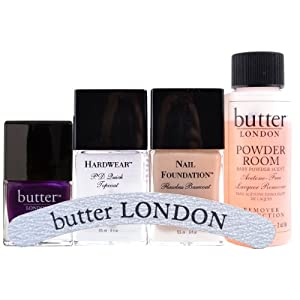 butter LONDON Backstage Basics Set with HRH Nail Lacquer