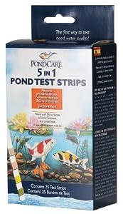 API Pondcare 5-in-1 Pond Test Strips