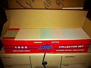 Score 1988 Baseball Cards Collector Set