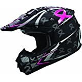 GMAX Womens GM76X Limited Edition Pink Ribbon Helmet 2013