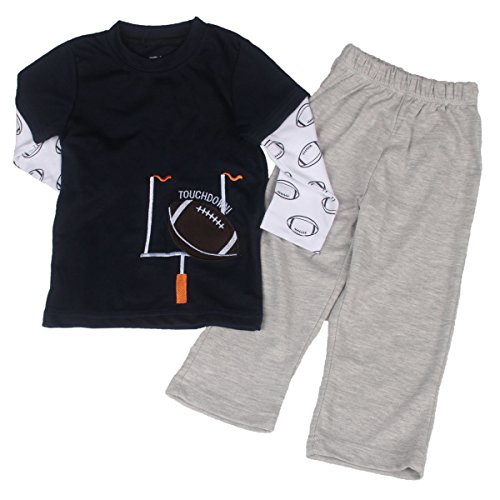 Baby Boy'S And Girl'S Cute Leisure Long Sleeve T Shirt+Pants Type Yg7316-4T