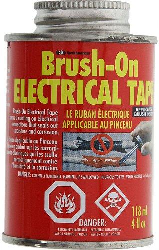 Micro Tools Plastic Dip Liquid Electrical Tape, 4 Oz Bottle