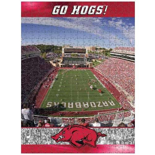 Picture of Fun Racing Reflections Arkansas Razorbacks 18X22 550 Piece Jigsaw Puzzle (B002QTI7CG) (Jigsaw Puzzles)
