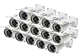Puffin PF6C8330-14 1000TVL Analog Bullet CCTV Camera (14 PCs)