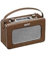 AKAI - APR-200 BN Radio - Transistor Retro - Tuner AM/ FM - Portable 2 W - Marron