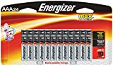 Energizer AAA Batteries, Triple A Battery Max Alkaline (24 Count) E92BP-24