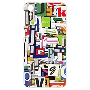 a AND b Designer Printed Mobile Back Cover / Back Case For HTC Desire 826 (HTC_826_3D_431)