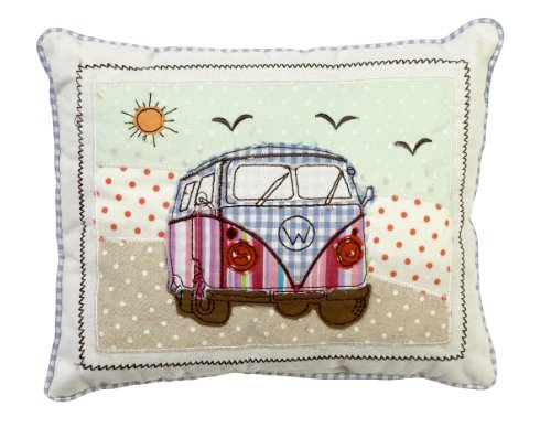 Patchwork VW Split Screen Campervan Retro Cushion - Lovely gift idea