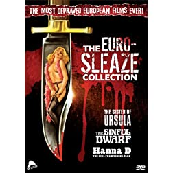 'The Euro-Sleaze Collection (THE SINFUL DWARF/THE SISTER OF URSULA/HANNA D: THE GIRL FROM VONDEL PARK)