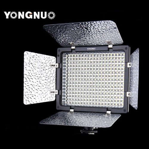 Yongnuo YN-300 LED Illumination Dimming Video Light Lamp SLR Camera DV Camcorder for Canon image