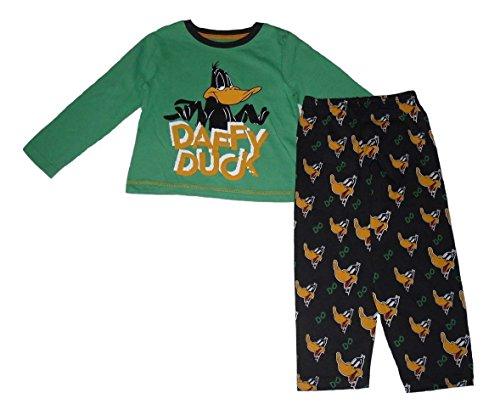 daffy-duck-pigiama-due-pezzi-ragazzo-verde-verde