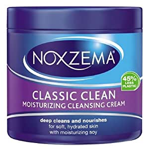 Noxzema Deep Cleansing Cream Plus Moisturizer Unisex, 12 Ounce