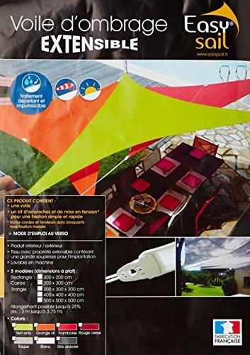 Easy Sail © ESTV500 - Vela de sombra para patio, verde