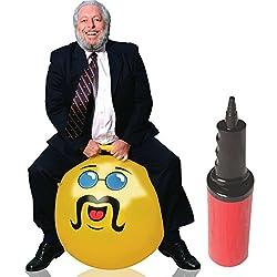 Yellow Adult Size Hopper Hoppity Hippity Ball: LIKE A BOSS