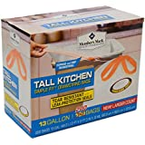 Member's Mark Tall Kitchen Simple Fit Drawstring 13 Gallon Bags 200 ct.