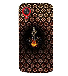 PRINTVISA Abstract Guitar Case Cover for LG Nexus 5