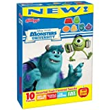 Kellogg's Fruit Flavored Snacks, Monster's University, 10-Count Box (Pack of 5)