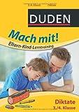 Mach mit! Eltern-Kind-Lerntraining - Diktate 3./4. Klasse