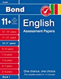 Bond English Assessment Papers 10-11+ Years Book 1