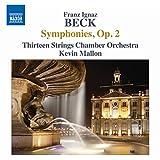 Beck:Symphonies Op. 2 [Thirteen Strings Chamber Orchestra; Kevin Mallon] [NAXOS: 8573323]