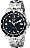 Tissot Men's T0664071105700 SeaStar Black Automatic Dial Watch