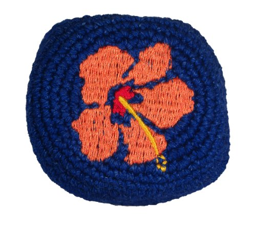 Hacky Sack - Hibiscus with Orange Flower