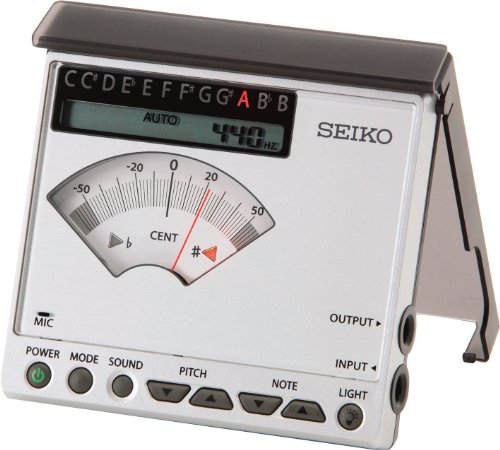 Seiko Sat1100 Chromatic Tuner Regular