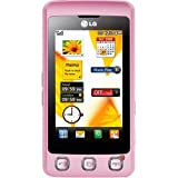 LG KP500 Cookie Unlocked Phone with Camera (Pink)–International Version with No Warranty Reviews