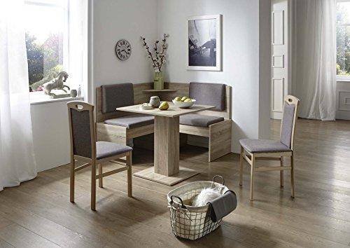 Eckbankgruppe-mit-Tisch-75-x-75-cm-Eiche-Sonoma