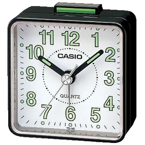 Casio #TQ140-1BDF Travel Alarm Clock