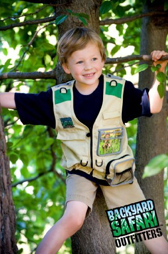 Backyard Safari Cargo Vest Toy, Kids, Play, Children