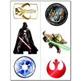 Star Wars Temporary Tattoos 2 sheets, 1 pkg