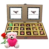 Amazing Gifts For Love With Teddy And Rose - Chocholik Belgium Chocolates