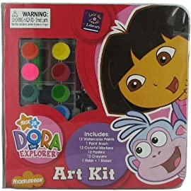 Nickelodeon: Dora the Explorer 51 Piece Art Kit
