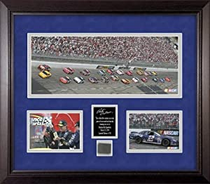 Rusty Wallace Race-Used Tire Mini Panoramic Collectible - Mounted Memories Certified... by Sports Memorabilia