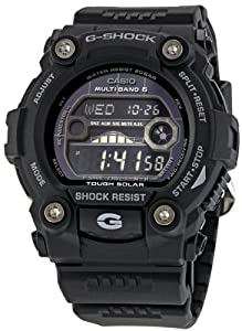 G-SHOCK The G-Rescue Solar Powered Watch in Black,Watches for Unisex by G-SHOCK
