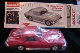 Solidex VHS Cassette Audowinder RED Corvette 63vette V1963AR
