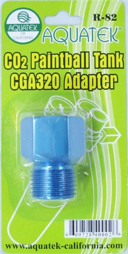 AQUATEK CO2 Paintball Tank CGA 320 Adapter