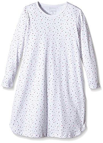 NAME IT - Nitnightgown K G Noos, Camicia da notte Bimbo 0-24, Multicolore (Bright White), 10 anni (Taglia Produttore: 146)