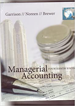 managerial accounting chapter 13 garison Table of contents  financial and managerial accounting - financial, volume i chapter 1-13 1/e  horngren/harrison/braun table of contents  1) accounting and the business environment.