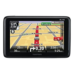 TomTom GO LIVE 2535M 5-Inch Portable Bluetooth GPS Navigator with HD Traffic and Lifetime Maps