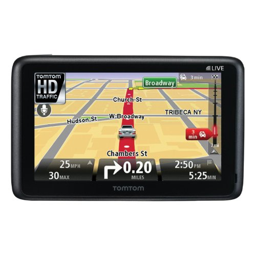 TomTom GO 2535M LIVE 5-Inch Portable Bluetooth GPS Navigator with HD Traffic and Lifetime Maps
