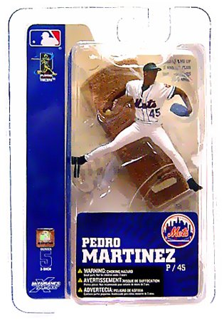 McFarlane Toys MLB 3 Inch Sports Picks Series 5 Mini Figure Pedro Martinez (N...