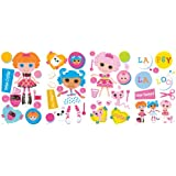 RoomMates RMK2003SCS Lalaloopsy Peel and Stick Wall Decals