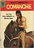 Walt Disney's Commanche/Tonka - Dell Four-Color Movie Western Comic #1350 - April 1962 - Sal Mineo photo cover