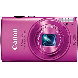 Canon PowerShot ELPH 330 HS 12.1 MP Wi-Fi Enabled CMOS Digital Camera with 10x Optical Zoom 24mm Wide-Angle Lens and 1080p Full HD Video (Pink)