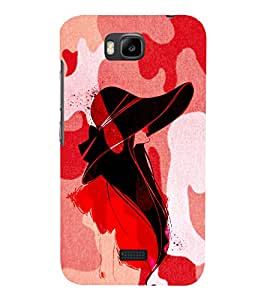 Pattern Fashionist 3D Hard Polycarbonate Designer Back Case Cover for Huawei Honor Bee :: Huawei Y5C