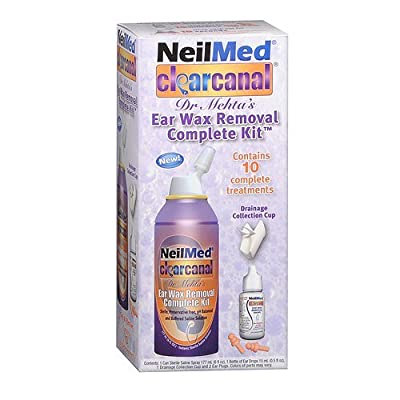 Neilmed Clear Canal Ear Wax Removal Complete Kit - 1 Ea, 3 Pack by NeilMed