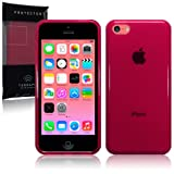 New Apple iPhone 5C 8gb (2014) TPU Gel Skin Case / Cover - Red