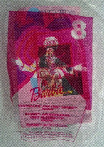 McDonald's Fun Time Barbie - 2001 McDonalds Toy - 1